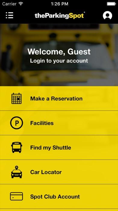 Parking Spot App >> Listing Sap Concur App Center